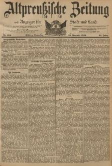 Altpreussische Zeitung, Nr. 264 Donnerstag 10 November 1892, 44. Jahrgang