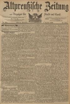 Altpreussische Zeitung, Nr. 284 Sonnabend 3 Dezember 1892, 44. Jahrgang