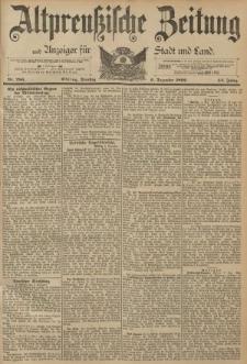 Altpreussische Zeitung, Nr. 286 Dienstag 6 Dezember 1892, 44. Jahrgang