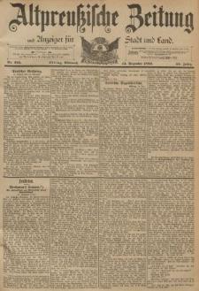Altpreussische Zeitung, Nr. 293 Mittwoch 14 Dezember 1892, 44. Jahrgang