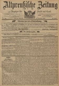 Altpreussische Zeitung, Nr. 299 Mittwoch 21 Dezember 1892, 44. Jahrgang