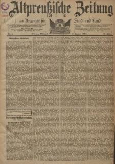 Altpreussische Zeitung, Nr. 1 Mittwoch 3 Januar 1894, 46. Jahrgang