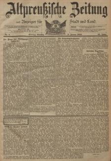 Altpreussische Zeitung, Nr. 6 Dienstag 9 Januar 1894, 46. Jahrgang