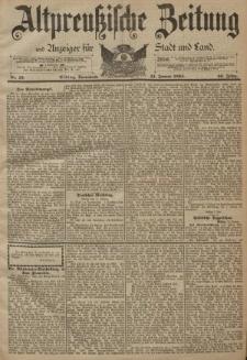 Altpreussische Zeitung, Nr. 10 Sonnabend 13 Januar 1894, 46. Jahrgang