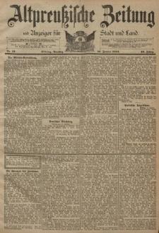Altpreussische Zeitung, Nr. 12 Dienstag 16 Januar 1894, 46. Jahrgang