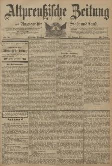 Altpreussische Zeitung, Nr. 18 Dienstag 23 Januar 1894, 46. Jahrgang