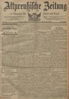Altpreussische Zeitung, Nr. 21 Freitag 26 Januar 1894, 46. Jahrgang