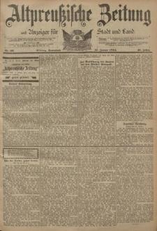 Altpreussische Zeitung, Nr. 22 Sonnabend 27 Januar 1894, 46. Jahrgang