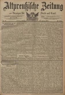 Altpreussische Zeitung, Nr. 24 Dienstag 30 Januar 1894, 46. Jahrgang