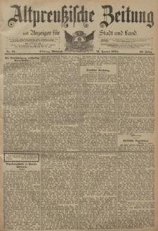 Altpreussische Zeitung, Nr. 25 Mittwoch 31 Januar 1894, 46. Jahrgang