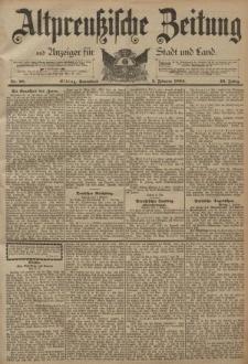 Altpreussische Zeitung, Nr. 28 Sonnabend 3 Februar 1894, 46. Jahrgang