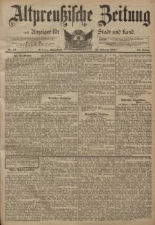 Altpreussische Zeitung, Nr. 34 Sonnabend 10 Februar 1894, 46. Jahrgang