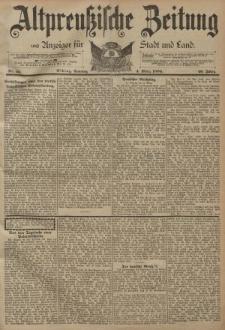 Altpreussische Zeitung, Nr. 53 Sonntag 4 März 1894, 46. Jahrgang