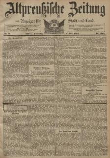 Altpreussische Zeitung, Nr. 56 Donnerstag 8 März 1894, 46. Jahrgang