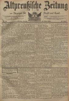 Altpreussische Zeitung, Nr. 59 Sonntag 11 März 1894, 46. Jahrgang