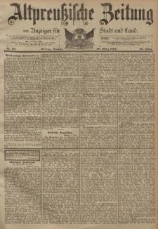 Altpreussische Zeitung, Nr. 66 Dienstag 20 März 1894, 46. Jahrgang