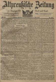 Altpreussische Zeitung, Nr. 106 Mittwoch 9 Mai 1894, 46. Jahrgang