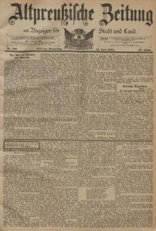 Altpreussische Zeitung, Nr. 136 Donnerstag 14 Juni 1894, 46. Jahrgang