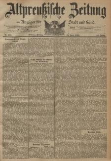 Altpreussische Zeitung, Nr. 137 Freitag 15 Juni 1894, 46. Jahrgang
