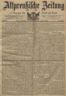 Altpreussische Zeitung, Nr. 159 Mittwoch 11 Juli 1894, 46. Jahrgang