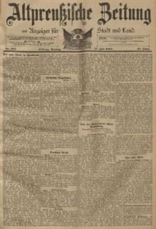 Altpreussische Zeitung, Nr. 164 Dienstag 17 Juli 1894, 46. Jahrgang