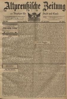 Altpreussische Zeitung, Nr. 169 Sonntag 22 Juli 1894, 46. Jahrgang