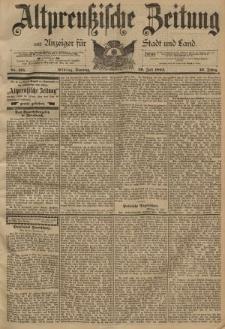 Altpreussische Zeitung, Nr. 175 Sonntag 29 Juli 1894, 46. Jahrgang