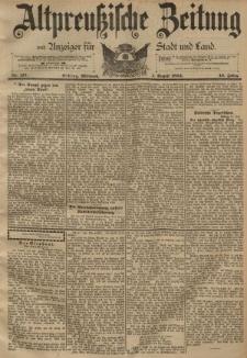 Altpreussische Zeitung, Nr. 177 Mittwoch 1 August 1894, 46. Jahrgang