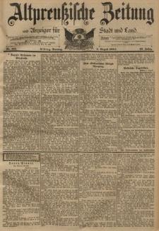 Altpreussische Zeitung, Nr. 181 Sonntag 5 August 1894, 46. Jahrgang