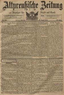 Altpreussische Zeitung, Nr. 189 Mittwoch 15 August 1894, 46. Jahrgang