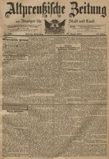 Altpreussische Zeitung, Nr. 196 Donnerstag 23 August 1894, 46. Jahrgang