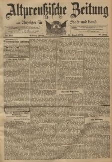 Altpreussische Zeitung, Nr. 203 Freitag 31 August 1894, 46. Jahrgang