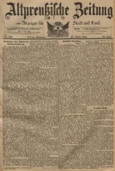 Altpreussische Zeitung, Nr. 246 Sonnabend 20 Oktober 1894, 46. Jahrgang
