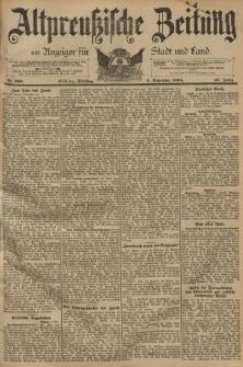 Altpreussische Zeitung, Nr. 260 Dienstag 6 November 1894, 46. Jahrgang