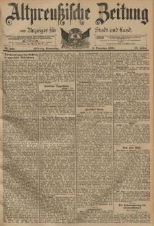 Altpreussische Zeitung, Nr. 262 Donnerstag 8 November 1894, 46. Jahrgang