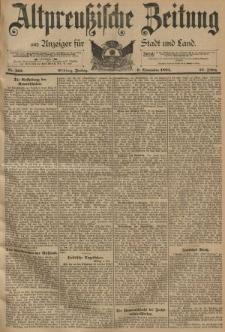 Altpreussische Zeitung, Nr. 263 Freitag 9 November 1894, 46. Jahrgang