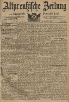 Altpreussische Zeitung, Nr. 278 Mittwoch 28 November 1894, 46. Jahrgang