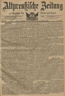 Altpreussische Zeitung, Nr. 282 Sonntag 2 Dezember 1894, 46. Jahrgang
