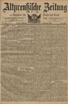 Altpreussische Zeitung, Nr. 284 Mittwoch 5 Dezember 1894, 46. Jahrgang