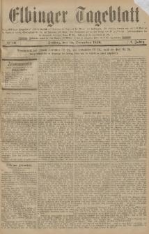Elbinger Tageblatt, Nr. 10 Freitag 12 Dezember 1884 1. Jahrgang