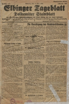 Elbinger Tageblatt, Nr. 110 Dienstag 12 Mai 1925