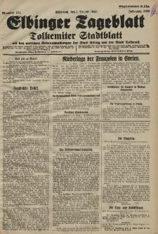 Elbinger Tageblatt, Nr. 181 Mittwoch 5 August 1925