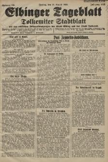 Elbinger Tageblatt, Nr. 195 Freitag 21 August 1925
