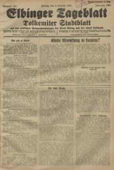 Elbinger Tageblatt, Nr. 237 Freitag 9 Oktober 1925