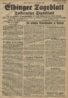 Elbinger Tageblatt, Nr. 238 Sonnabend 10 Oktober 1925