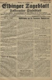 Elbinger Tageblatt, Nr. 239 Montag 12 Oktober 1925
