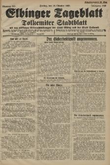 Elbinger Tageblatt, Nr. 243 Freitag 16 Oktober 1925