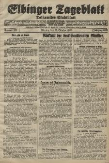Elbinger Tageblatt, Nr. 251 Montag 26 Oktober 1925