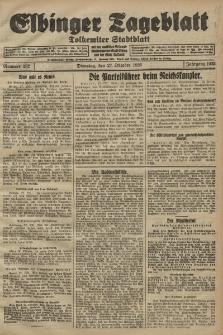 Elbinger Tageblatt, Nr. 252 Dienstag 27 Oktober 1925
