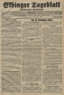 Elbinger Tageblatt, Nr. 262 Sonnabend 7 November 1925